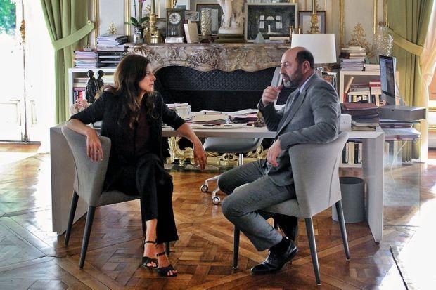 "Avec Kad Merad dans la saison 2 de ""Baron noir""."
