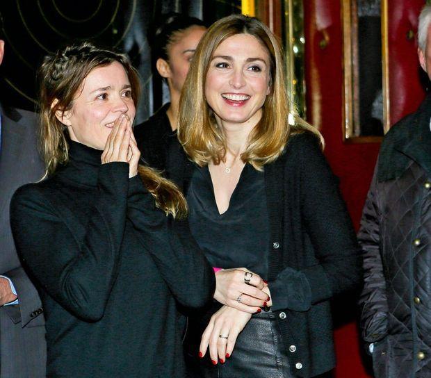 Avec l'actrice Caroline Proust, au Grand Rex, le 15 avril, pour la soirée d'ouverture du 7e festival Séries mania.