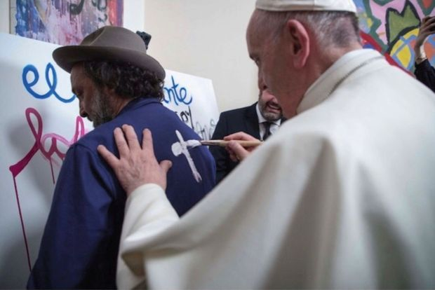 Avec le pape