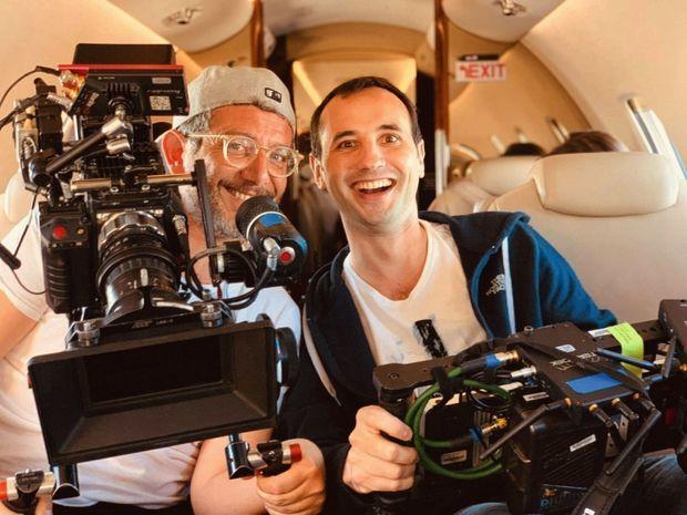 Avec le réalisateur Eric Nebot. La série est dédiée à leurs grands-mères