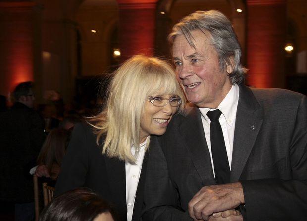 Avec Mireille Darc en 2007.