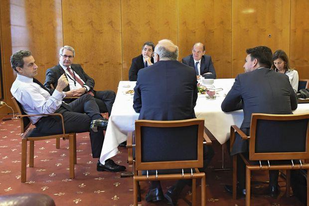 Avec une délégation parlementaire pour parler Europe et relancer le couple franco-allemand.