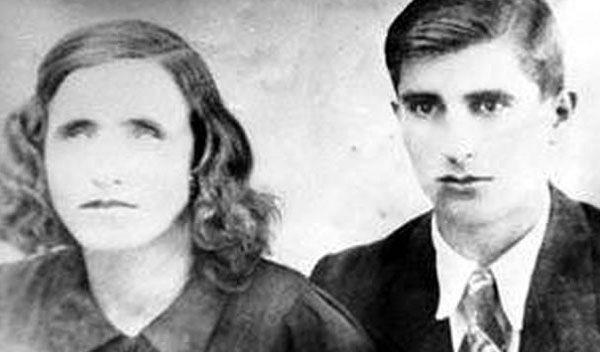 Baba Vanga avec son mari dans les années 40