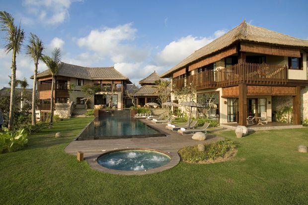 Une des villas acquise à Bali.