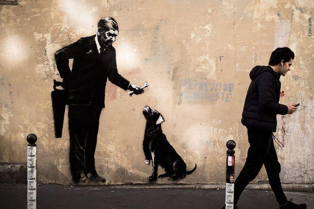 Une autre oeuvre à Paris attribuée à Banksy