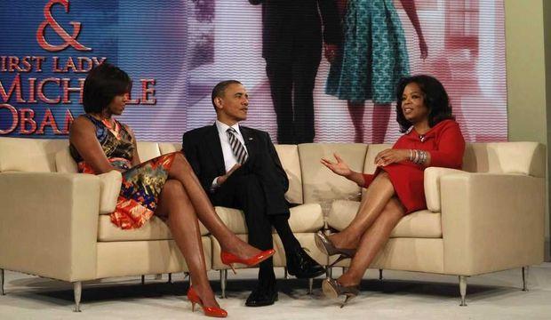 Barack et Michelle Obama chez Oprah Winfrey-