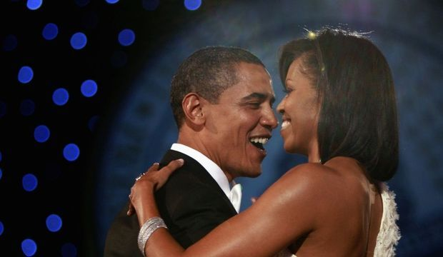 Barack et MIchelle Obama Neighborhood Inaugural Ball-