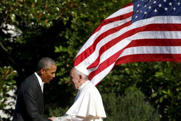 Barack Obama et le pape François
