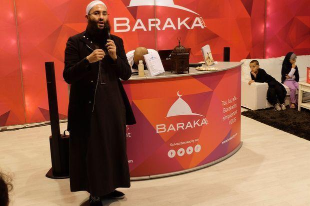Le stand de Baraka City.