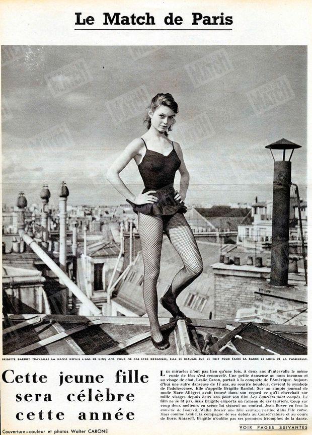 « Cette jeune fille sera célèbre dans l'année » - Paris Match n°168, 31 mai 1952