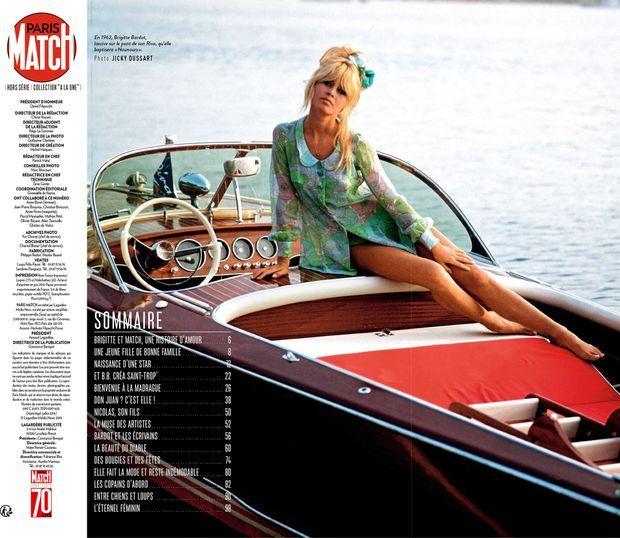 Au sommaire de notre hors-série anniversaire « Nos étés B.B. », 100 pages de photos et d'anecdotes exclusives consacrées à Brigitte Bardot...
