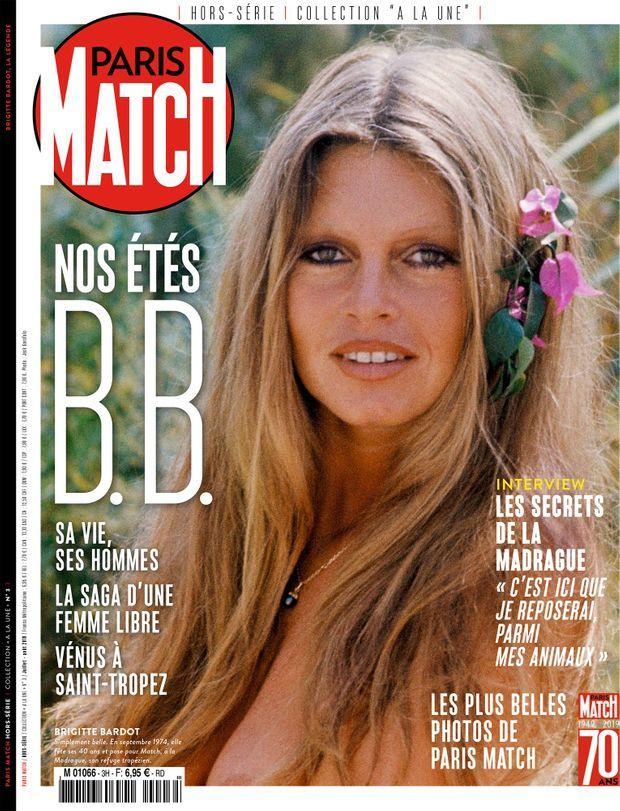 Notre hors-série anniversaire « Nos étés B.B. », 100 pages de photos et d'anecdotes exclusives consacrées à Brigitte Bardot...