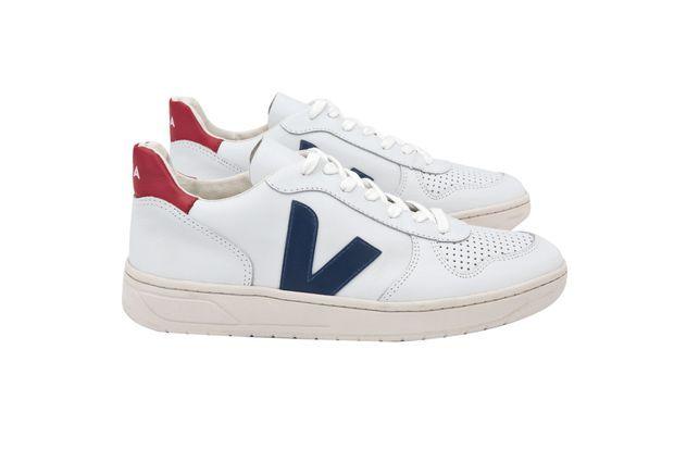 Des chaussures Veja.