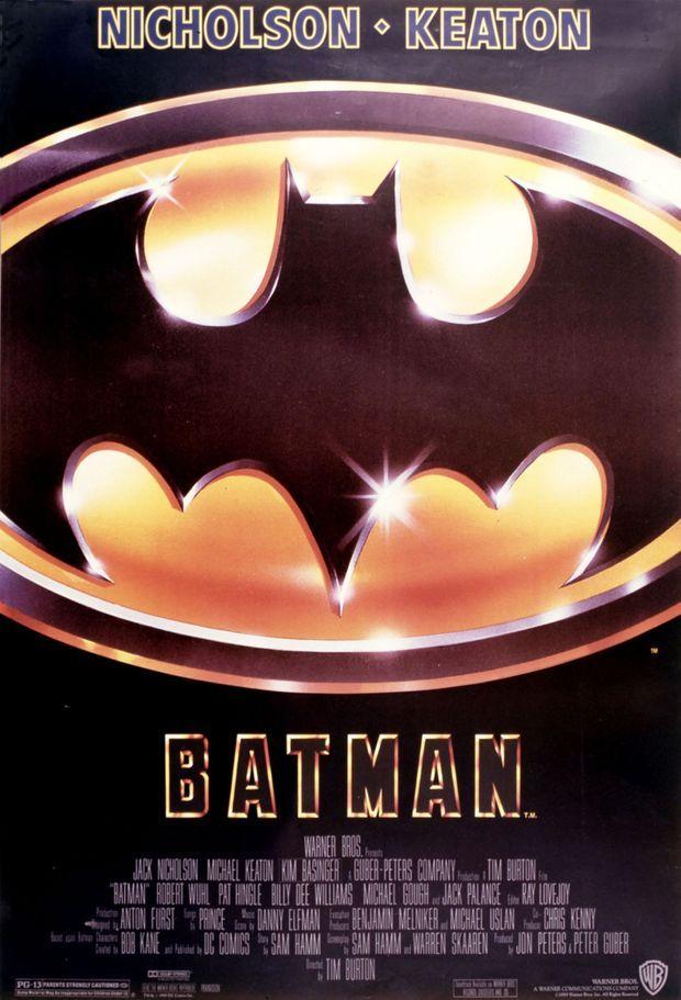 «Batman», de Tim Burton en 1989.