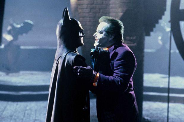 «Batman» avec Michael Keaton dans le rôle-titre et Jack Nicholson dans le rôle du Joker, réalisé par Tim Burton en 1989.