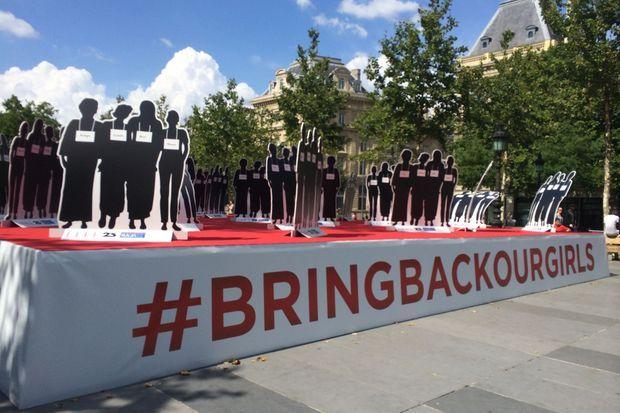 #BringBackOurGirls, place de la République.