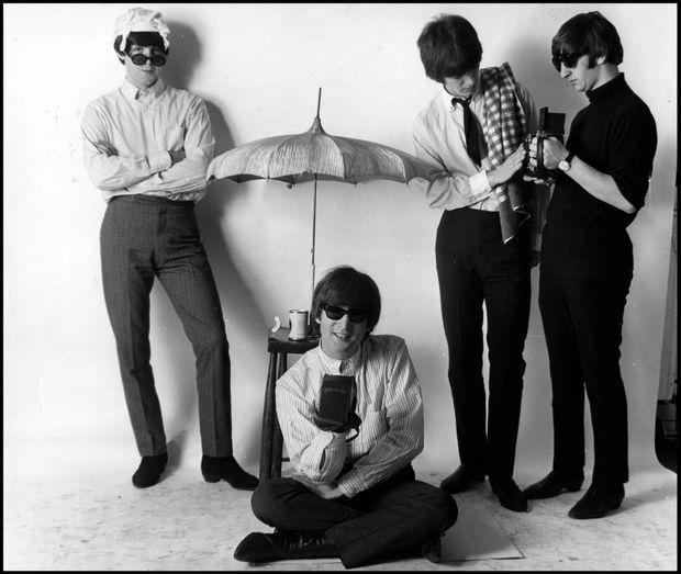 Les Beatles, photographiés en 1965.