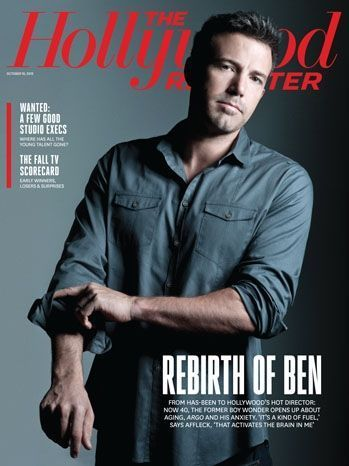 Ben Affleck Hollywood Reporter-