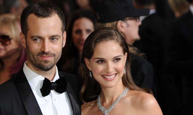 Benjamin Millepied et Natalie Portman-