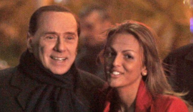 Berlusconi et Francesca Pascale-