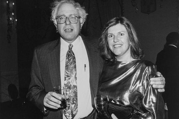 Bernie Sanders et sa femme Jane, en 1992.