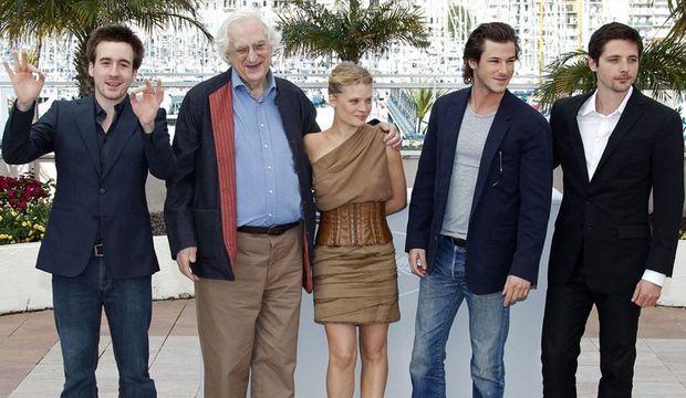 Bertrand Tavernier et ses acteurs-