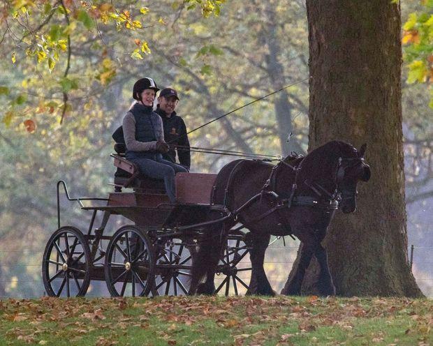 Lady Louise Windsor à Windsor, le 3 novembre 2018