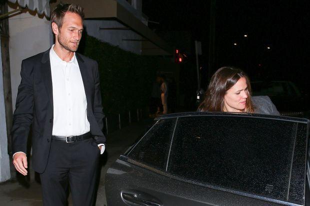 John Miller et Jennifer Garner à Los Angeles en février 2019