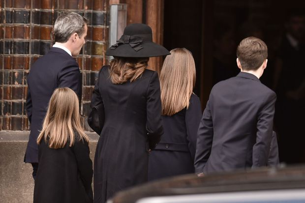 La princesse Mary et le prince Frederik de Danemark avec leurs enfants à Aarhus, le 4 mai 2019