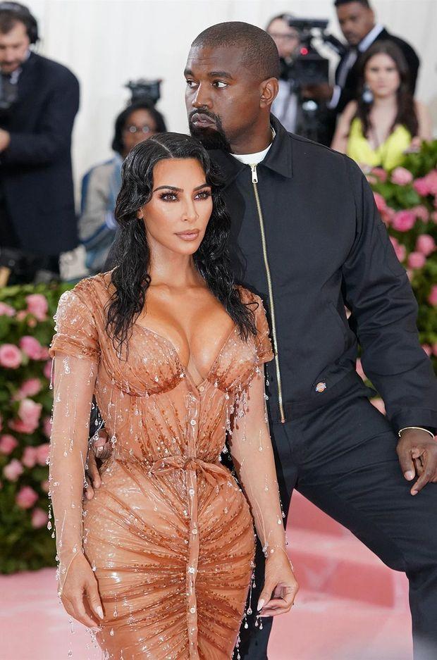 Kim Kardashian et Kanye West au Met Gala en mai 2019