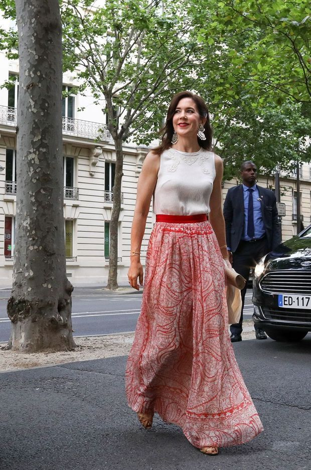 La princesse Mary de Danemark à Paris, le 23 juin 2019