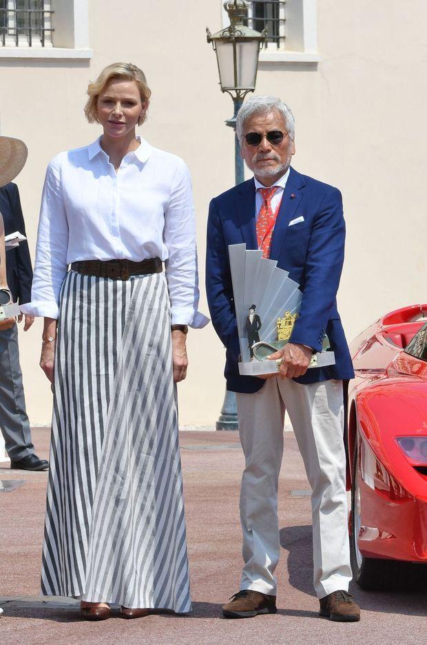 La princesse Charlène de Monaco à Monaco, le 30 juin 2019