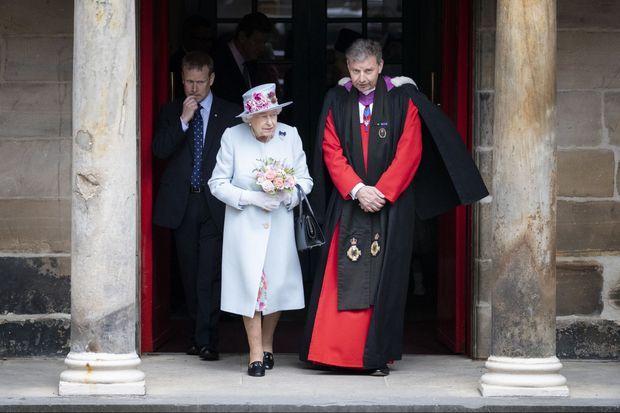 La reine Elizabeth II à Edimbourg, le 30 juin 2019