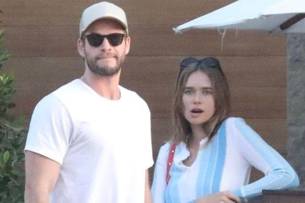 Liam Hemsworth et Gabriella Brooks à Malibu le 25 janvier 2020