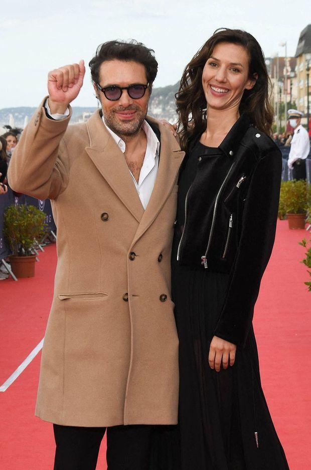 Nicolas Bedos et Doria Tillier au Festival de Cabourg en juin 2020