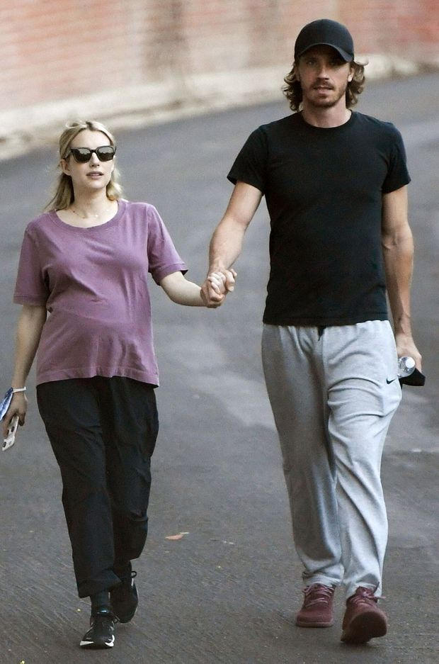 Emma Roberts et Garrett Hedlund à Los Angeles en octobre 2020
