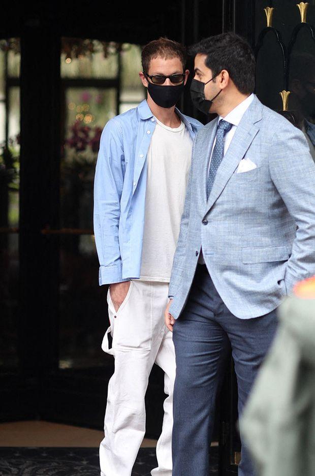 Marc Kalman (à gauche) à Paris le 1er juillet 2021