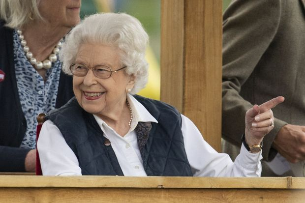 La reine Elizabeth II au Royal Windsor Horse Show, le 2 juillet 2021