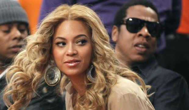 Beyoncé Jay Z All Star Game 2011-