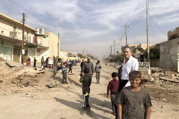 Début novembre 2016. Quartier de Hay al-Zohur, à Mossoul.