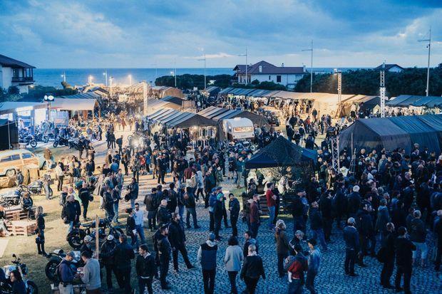 Le festival Wheels&Waves édition 2016, près de Biarritz.