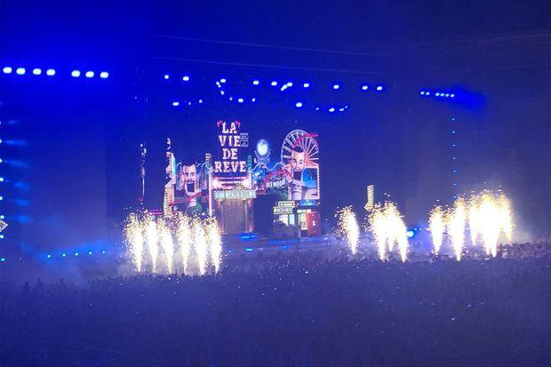 BigFlo et Oli étaient sur scène samedi soir chez eux, à Toulouse.