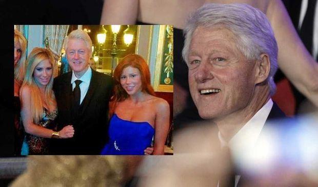 Bill Clinton et les actrices X-