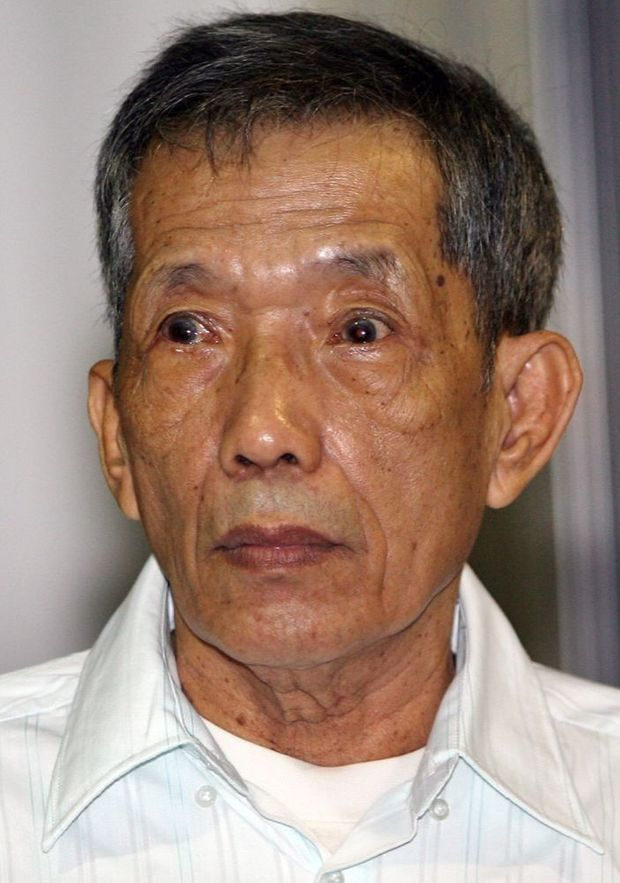 Douch, à l'ouverture de son premier procès, en mars 2009.