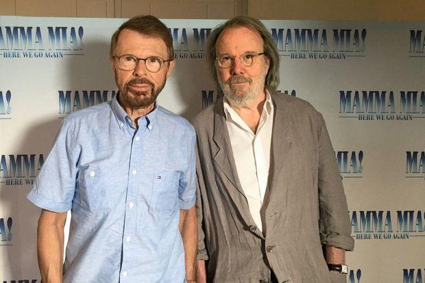 Björn Ulvaeus et Benny Andersso