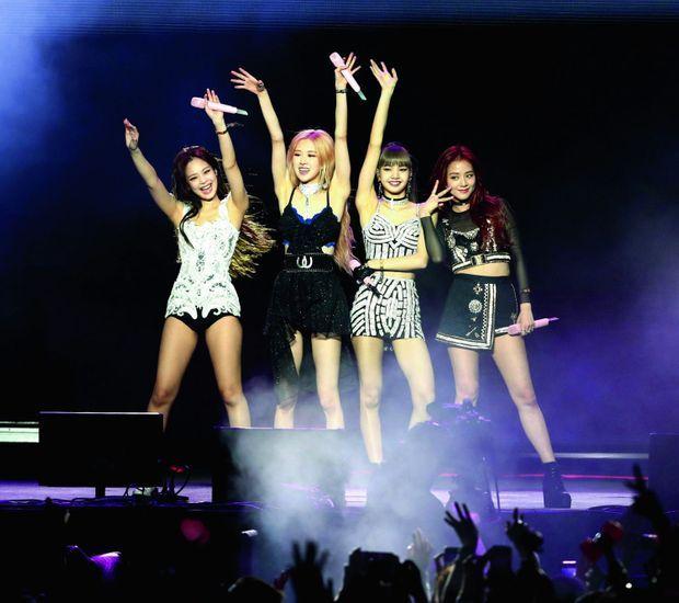 Blackpink est le premier groupe féminin coréen à jouer au festival américain de Coachella, en avril 2019.