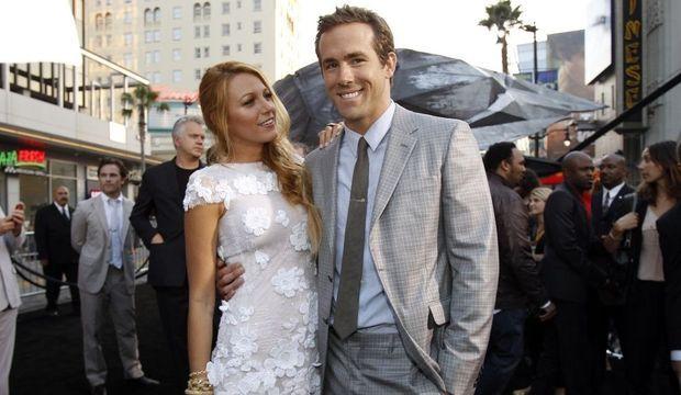Blake Lively et Ryan Reynolds, première de Green Lantern-