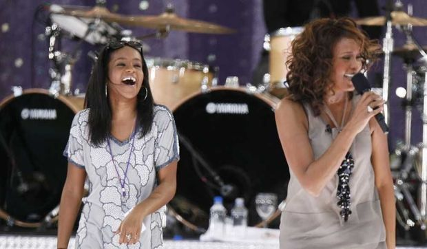 Bobbi Kristina et Whitney Houston-