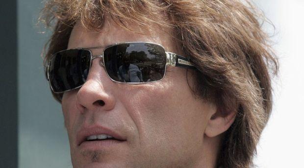 Bon Jovi gros plan-