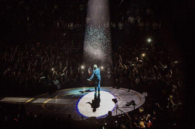 Bono et ses acolytes étaient en grande forme à Paris
